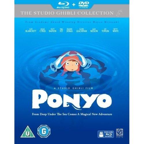 Ponyo Blu-Ray + DVD [2010]