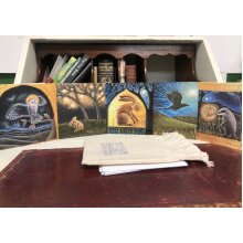 The Magic upon the Earth card pack of 5 greetings cards by Hannah Willow