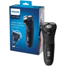 Philips New Series 3000 Wet or Dry Men's Electric Shaver