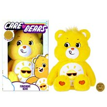 Care Bears 22087 14 Inch Medium Plush Funshine Bear, Collectable Cute Plush Toy, Cuddly Toys for Children, Soft Toys for Girls and Boys, Cute Teddies