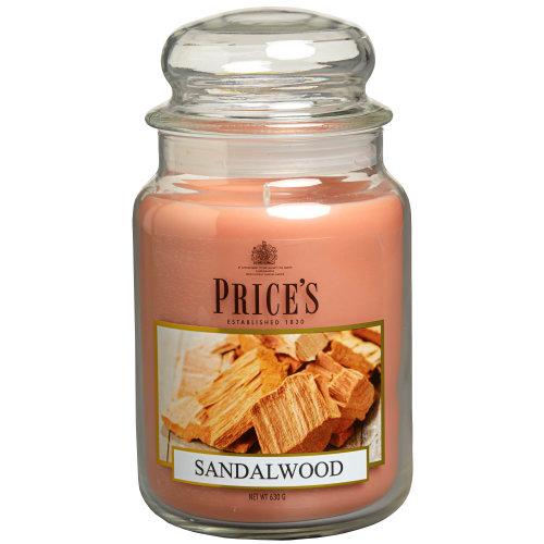 Large Jar Sandalwood