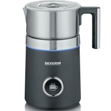 Severin Spuma 700 Plus Automatic Milk Frother - 500 W - Brushed Stainless Steel