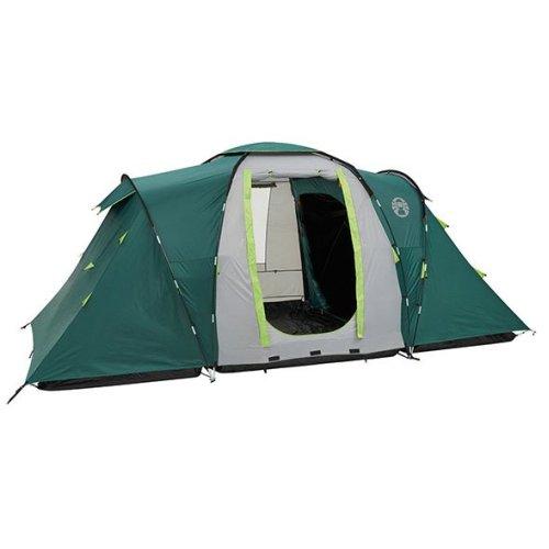 Coleman Spruce Falls Vis a Vis 4 Family Tent GreenGrey