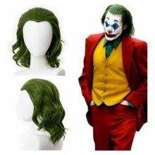 Joker Movie Arthur Fleck Joker Wig Cosplay Party Prop Green Hair