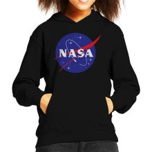 The NASA Classic Insignia Kid's Hooded Sweatshirt