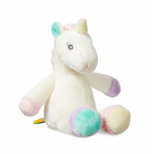 Aurora World Lil' Sparkle Baby Unicorn Rattle, 8-Inch