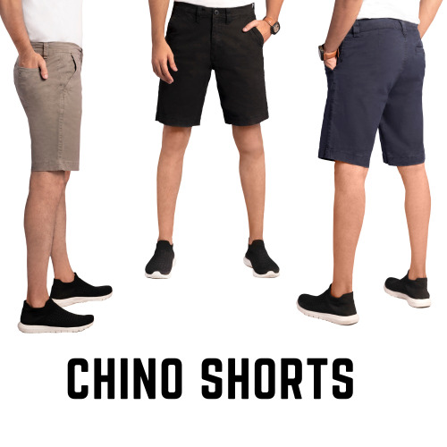 Five Emperors Men Stretchable Chino Shorts UK