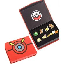 Pokemon Anime Kalos League Gym Badge Set