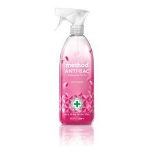 2 x Method Antibacterial All Purpose Cleaner Wild Rhubarb 828 ml Free Tissue