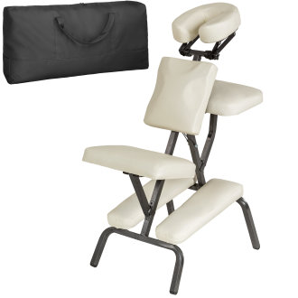Massage chair made of artificial leather -