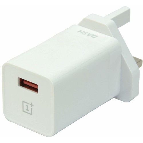 Official OnePlus Dash UK Fast Charge Power Adapter Charger Plug
