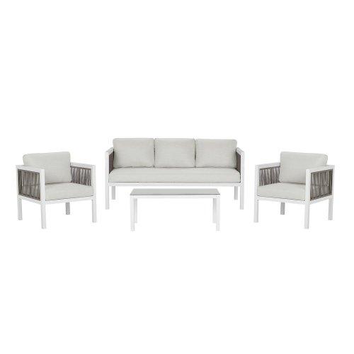 Garden Sofa Set White BORELLO