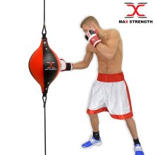 Double End Speed Ball Floor to Ceiling Boxing Punch Bag MMA Gym Training Bag New