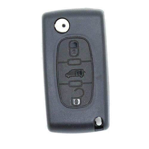 Peugeot Partner Citroen Berlingo or DISPATCH 3 Button REMOTE Key CASE