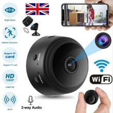 Ready Stock! HD 1080P IP Camera Spy Wireless WiFi Monitor Security Cam Indoor/Outdoor