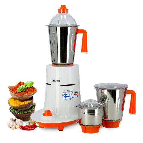 Geepas GSB5080 3-in-1 Food Grinder   Wet & Dry 550W Mixer