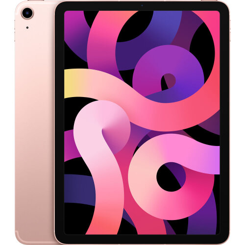 """Apple iPad Air 2020 10.9"""" 4th Gen 64GB Wi-Fi Only Rose Gold"""