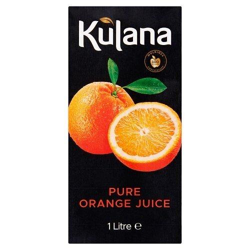 Kulana Pure Orange Juice Cartons (6 x 1 Litre)