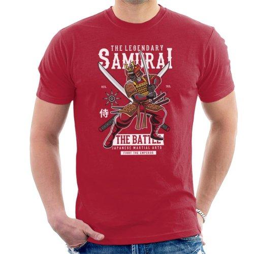 Legendary Samurai Battle Men's T-Shirt