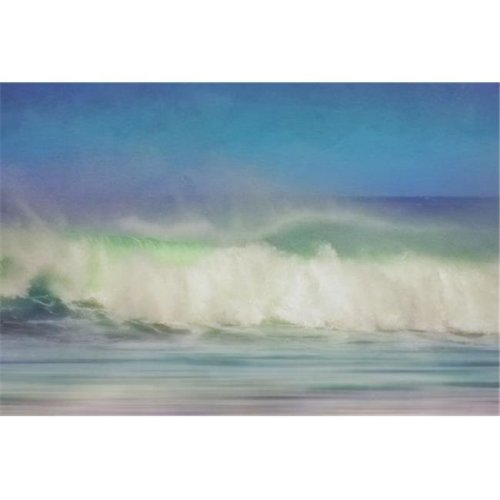 Turbulent Waters of The Pacific Ocean Near Haleiwa - Oahu Hawaii United States of America Poster Print by Roberta Murray, 38 x 24 - Large