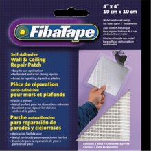 FibaTape FDW6836-U 4 x 4 in. Aluminum Perforated Wall And Ceiling Patches