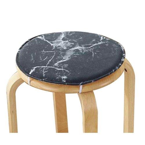 [B] Soft Round Stool Cover Bar Stool Seat Pad