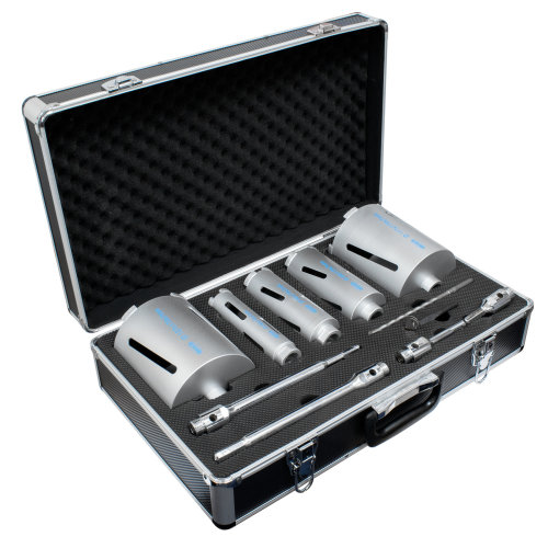Mexco DCX90 11pc Diamond Core Drill Kit Set