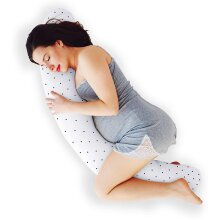 AirComfort Moon Shape Soft Maternity Breastfeeding Pillow