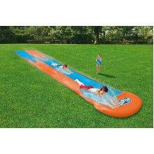 Bestway H20GO 4.88m Double Water Slip N Slider with Built in Sprinkers