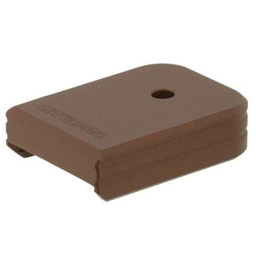 Leapers PUBGL02Z UTG PRO Plus 0 Base Pad, Glock Large Frame, Matte Bronze - Aluminum