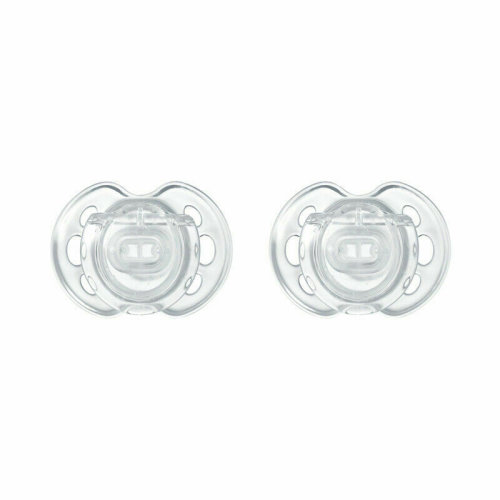 Tommee Tippee Closer to Nature Air Style Baby Soothers 0-6m 2Pk?Classic Dummies