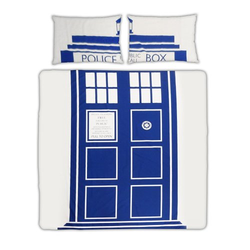 Doctor Who Official BBC Licensed Double Duvet Cover