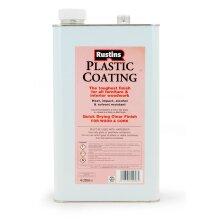 Rustins Plastic Coating and Hardener Gloss 4 Litre
