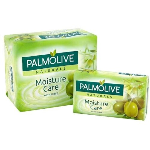 12 PCS (3 X 4 PACKS) PALMOLIVE NATURALS MOISTURE CARE WITH OLIVE OIL 90g SOAP BARS