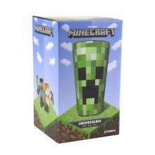 Minecraft Creeper Pixelated Drinking Glass Perfect Gift for Gamers 450ml