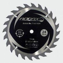 Addax T1651024 TCT Cordless Trim Saw Blades 165 x 10 x 24T