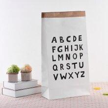 Heavy Kraft Paper Storage Toys Clothing Organizer Simple Eco-friendly Decor