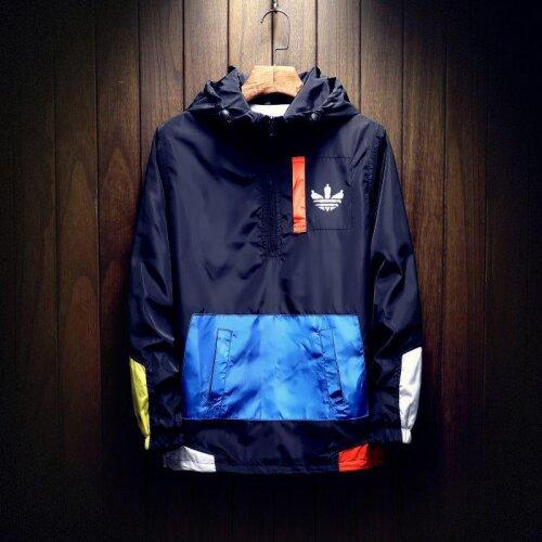men,s clothing outdoor waterproof zipper jacket hooded design