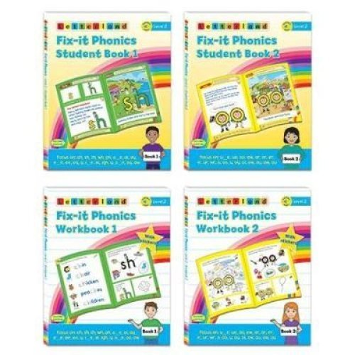 Fix-it Phonics - Level 2 - Student Pack (2nd Edition)