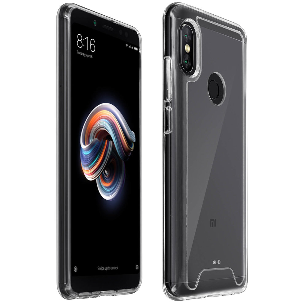 Cristal Series case hybrid backcover for Xiaomi Redmi Note 5 - Ultra clear