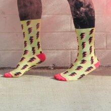 Lightning Bolts Sock