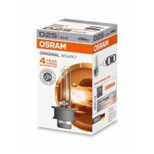 OSRAM XENARC ORIGINAL D2S HID, xenon headlight bulb, 66240, folding carton box (1 piece)(Packaging Might Vary)