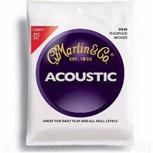 Martin 92/8 Acoustic Guitar Strings - Phosphor Bronze Wound (Light.012 - .054)