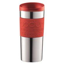 Bodum Stainless Steel Travel Vacuum Mug (0.35L) - Red