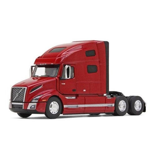 Volvo VNL 760 with Sleeper in Cherry Bomb Red