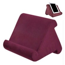 Lumbar Support Soft Pillow Lap Holder Stand For Tablet Book Rest Reading Support Cushion