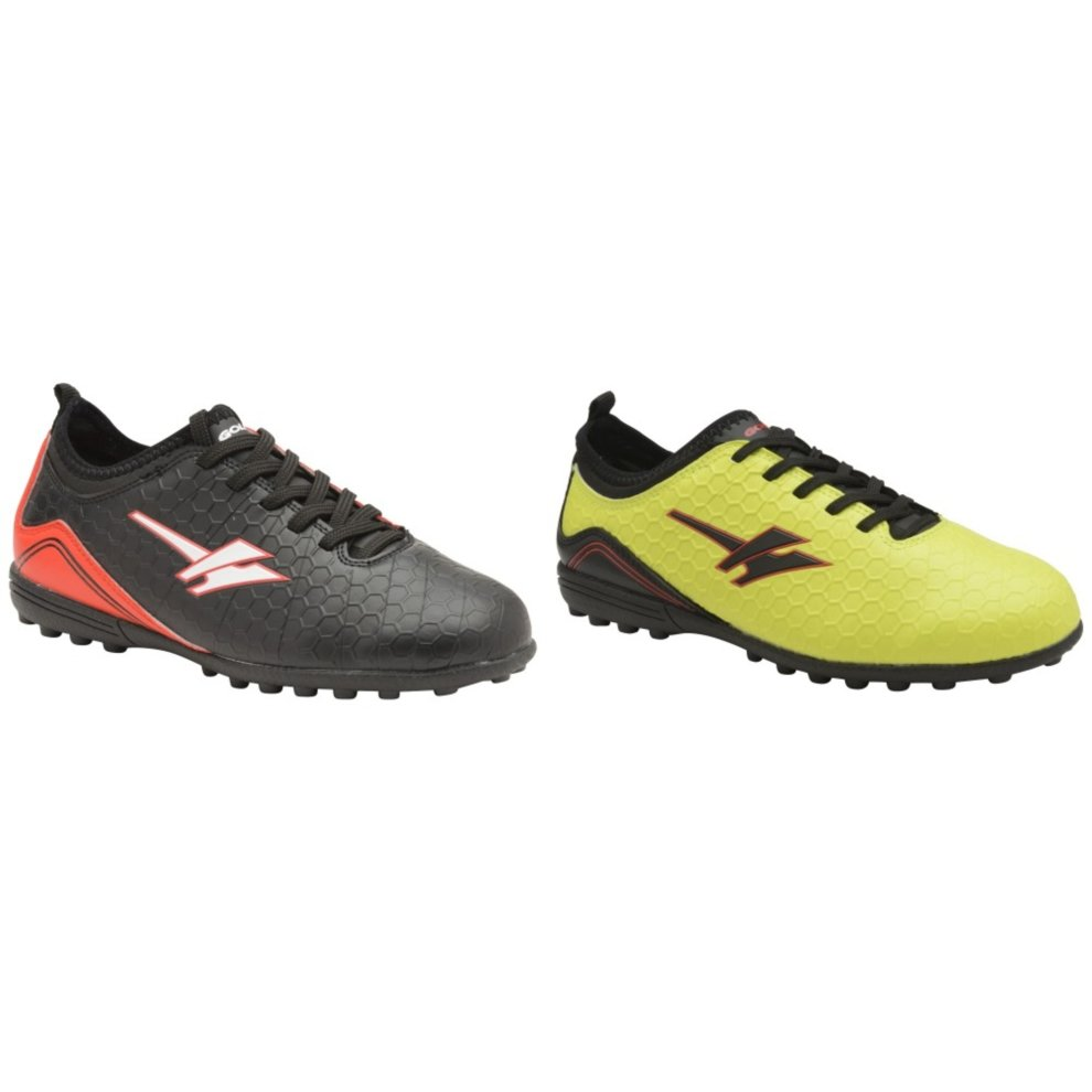 Gola Apex 2 Vx Boys Kids Football Boots Trainers Lime//Blue UK Size