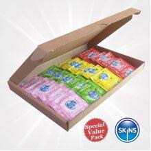 Skins Condoms Ass Flvr 32, 50 & 100 Pieces - Mega Value Packs