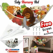 Details about  Soft Large Toys Hammock Mesh Net Teddy Bear Keep Baby