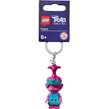 LEGO Trolls World Tour Poppy Minifigure Keychain 854003